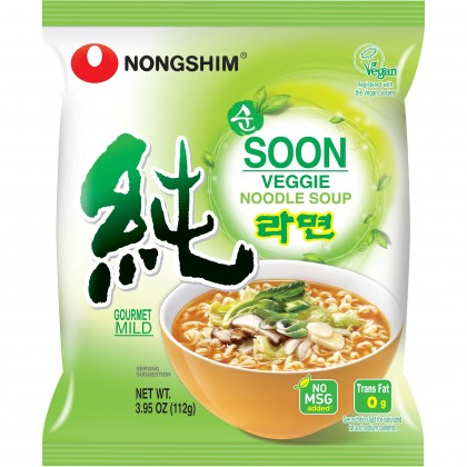 Soon Veggie Instant Noodle