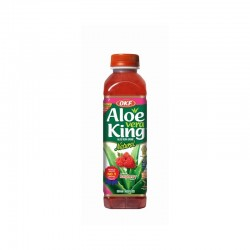 OKF Aloe Vera Drink Raspberry