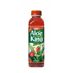 OKF Aloe Vera Drink Strawberry