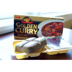 S&B csípős Golden Curry - 240 g