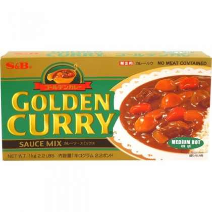 S&B közepesen csípős Golden Curry - 240 g