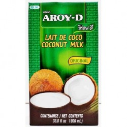 Aroy-D Coconut Milk 17.5% Fat - 1 l
