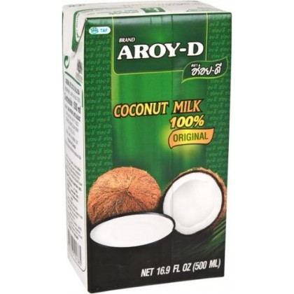 Aroy-D Coconut Milk 17.5% Fat - 500 ml