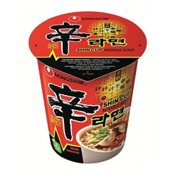 Shin Instant Noodle in cup