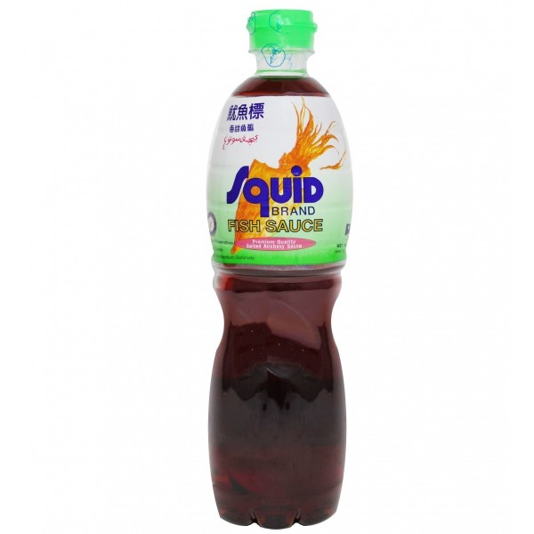 Squid fish sauce 700 ml for Squid brand fish sauce
