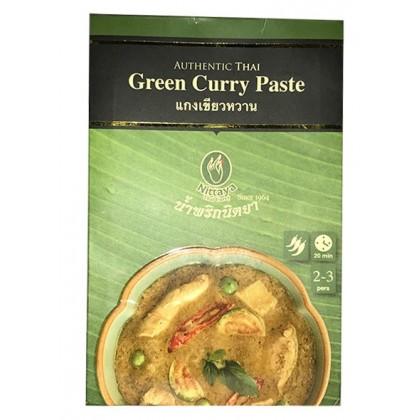 NITTAYA zöld prémium currypaszta 50 g