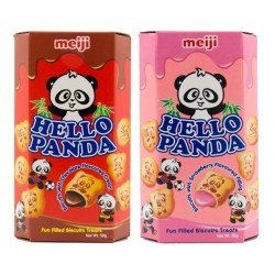 Hello Panda Chocolate-Strawberry Pack
