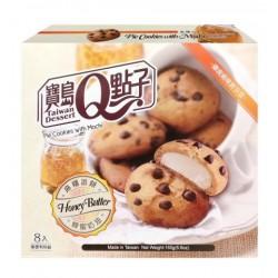 Japán Cookie mézes vaj töltelékkel