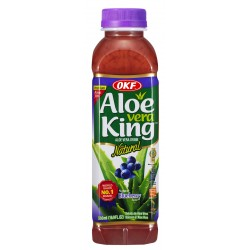 OKF Aloe Vera Drink Blueberry