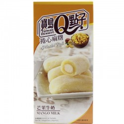 Mango Milk Mochi Roll