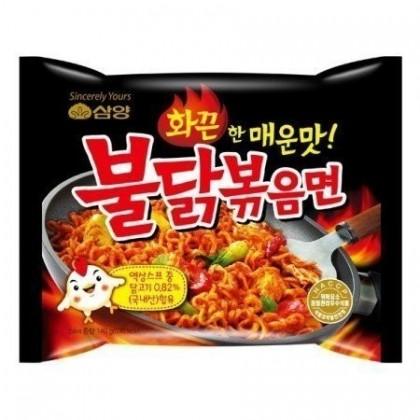 Samyang csípős és fűszeres instant tészta (csirkés)