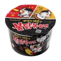 Samyang csípős és fűszeres instant tészta pohárban