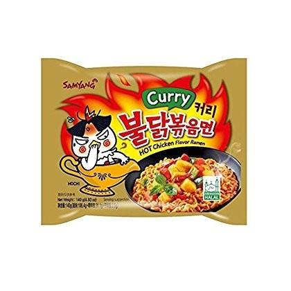 Samyang currys instant tészta (csirkés)