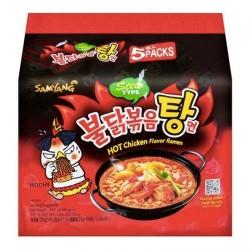 Samyang Stew Chicken Roasted Noodles 5pcs Pack