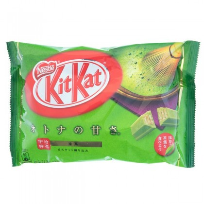 Uji Matcha Kit Kat 13 db mini csomag