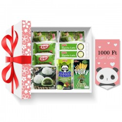 Christmas matcha gift set