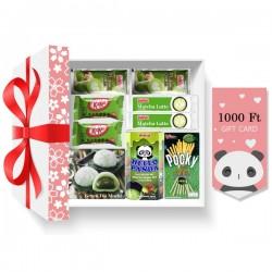 Valentine matcha gift set
