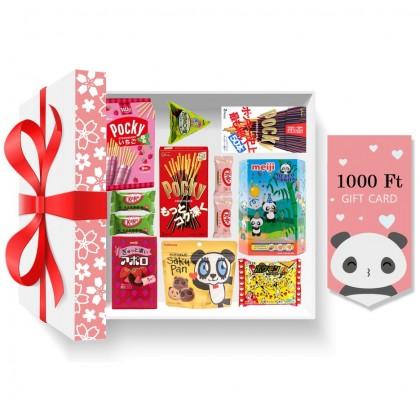 Japán prémium karácsonyi ajándékcsomag