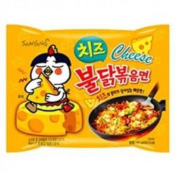 Samyang sajtos csípős és fűszeres instant tészta