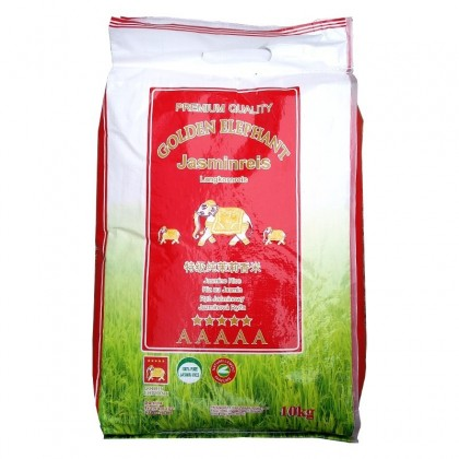 Golden Elefánt jázmin rizs - 10 kg