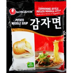 Potato Instant Noodle Soup