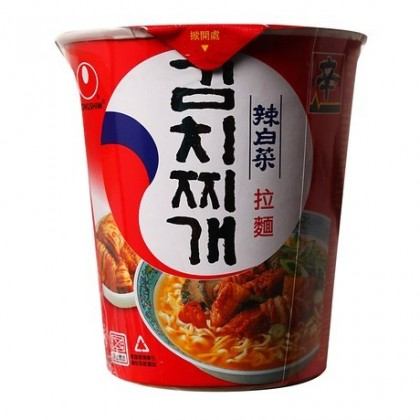 Nongshim Instant Cup Noodle Ramyun Kim Chi
