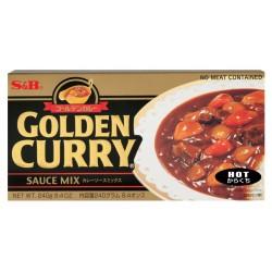 S&B csípős Golden Curry - 240 g