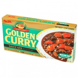 S&B közepesen csípős Golden Curry - 220 g