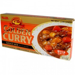 S&B enyhe csípős Golden Curry - 240 g