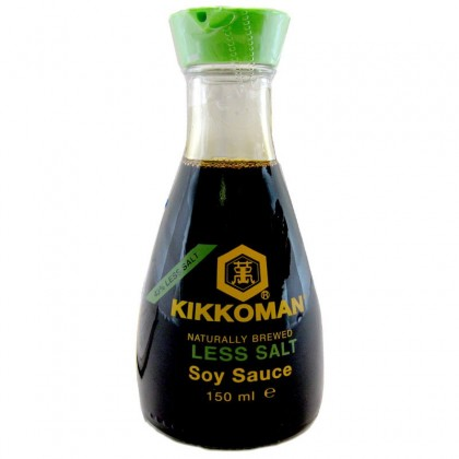 Kikkoman Soy Sauce Dispenser(Less salty) - 150 ml