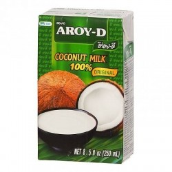 Aroy-D Coconut Milk 17.5% Fat - 250 ml