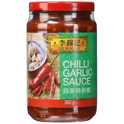 Chili és fokhagymás szósz - 368 g