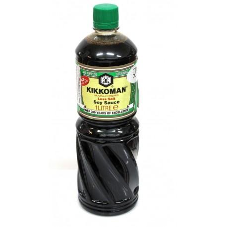 Kikkoman sószegény szójaszósz - 1000 ml