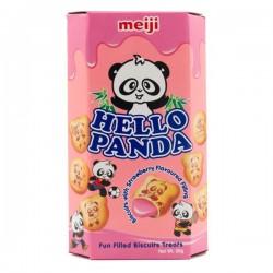 Hello Panda Matcha Green Tea Cream Biscuits