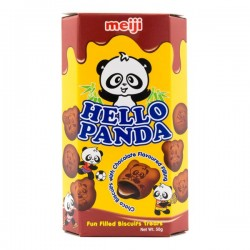Hello Panda Double Chocolate Cream Biscuits