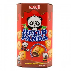 Hello Panda Chocolate Cream Biscuits