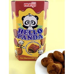 Hello Panda - csokis panda csoki keksz