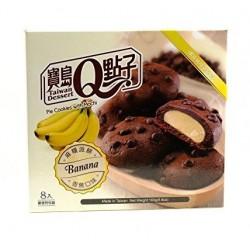 Japán Cookie banán mochi töltelékkel
