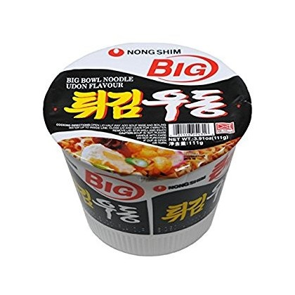 Big bowl Udon Instant Noodle