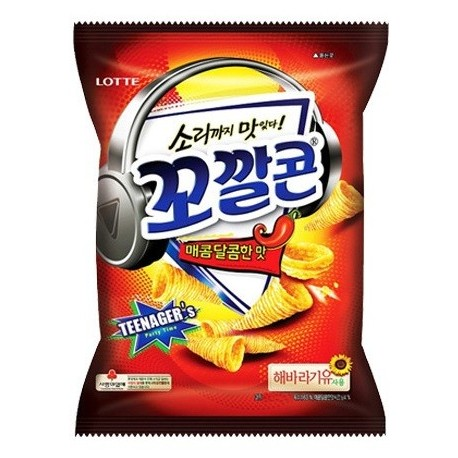 LOTTE Sweet Spicy Corn Snack