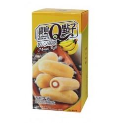Banános mochi tekercs
