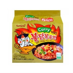 5pcs Samyang Curry Chicken Roasted Noodles pack