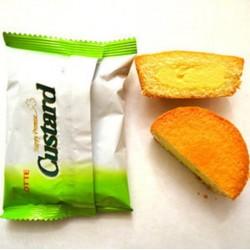 LOTTE premiun custard cake