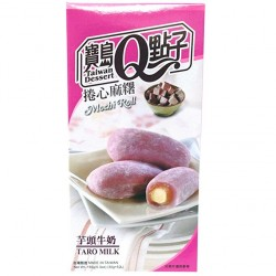 Taro Milk Mochi Roll