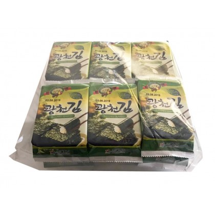 Olive Seasoned Nori pack (12 pcs)