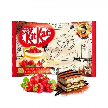 Strawberry tiramisu Kit Kat 12 mini bar pack