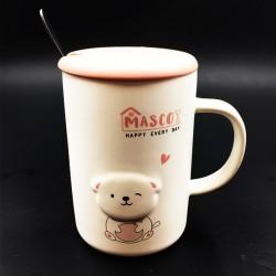 Dog mug Pink