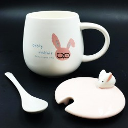 Glasses Bunny mug
