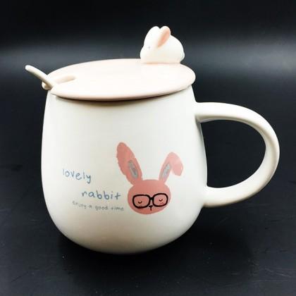 Glasses Bunny mug