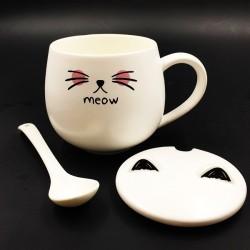 Cat mug Pink